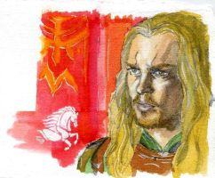 Eomer of Rohan by crisurdiales