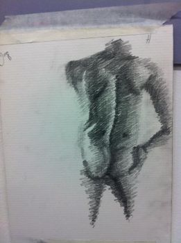 Life drawing 2 by Cloudy0Wolf