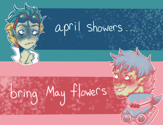MHA Where There's Rain, There's Flowers by LeafeonFan0001