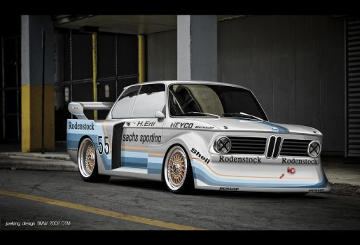 BMW 2002 DTM Designed by joekingdesign