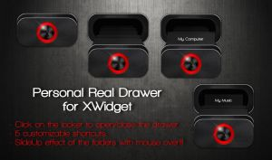 Personal Real Drawer for xwidget (Fixed) by Jimking