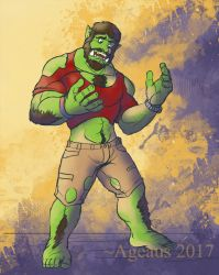Patreonsketch: Orcwish by Ageaus