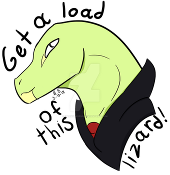 Get a Load of This LIZARD by Magmosa