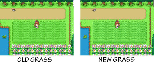 New tall grass UPDATE by WaterTrainer