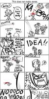 A very messed up Sonic comic.. by ojamajodoremidokkan