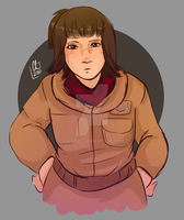 [Sketch] - Rose Tico by Chyche