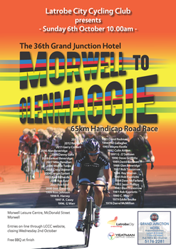 2013 Morwell To Glenmaggie Event Poster by zehalien