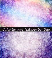 Color Grunge Textures Set One by ibjennyjenny