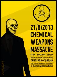 Chemical Weapons Massacre - Syria by ahmad-y