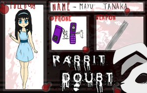 Rabbit Doubt Mayu Tanaka by kirstleberry