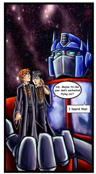 Harry Potter  Meets Prime by lady-cybercat