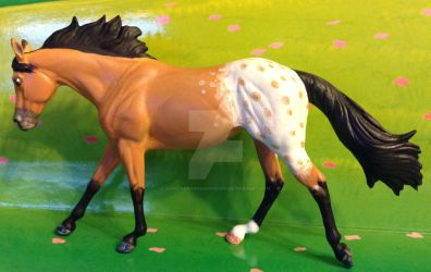 Appaloosa Moxie Resin by ElkStarRanchArtwork
