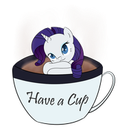 Hot chocolate and marshmallow by nerow94