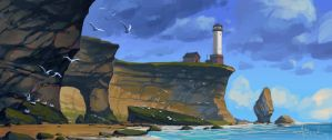 Lighthouse by Andead