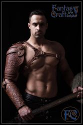 Leather armour set Aramis by Fantasy-Craft