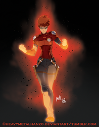 She's On Fire! by HeavyMetalHanzo