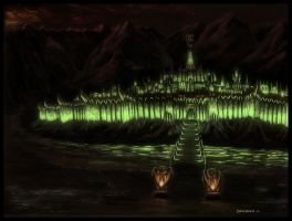 In The Morgul Vale by EthalenSkye