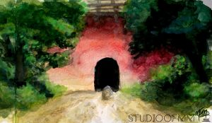 Spirited Away Scenery Study by studioofmm
