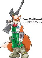 Fox McCloud of Starfox by Inspectornills
