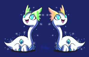 Shiny Amaura Twins
