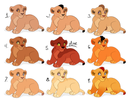 Cub Adopts [028|Open|Points Only|Set Price] by ThulianShadow