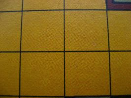 Yellow printed grid by indietextures
