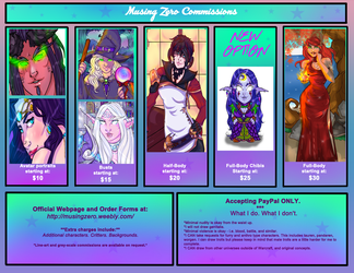 Commission Information by Musing-Zero