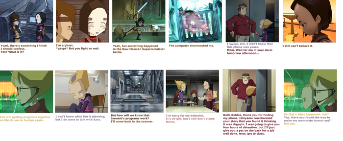 Attack of the Fan Caption 10: Ulrich the Ghost by Teen-Lyoko-Fan7777