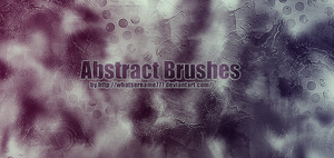 Abstract Brushes 2 by Whatsername777