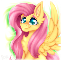 Fluttershee~ by Marty-Draws