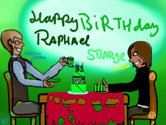 Happy Birthday Raphael Sbarge! by PopcorningBlue