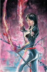 Psylocke. by PORTAVERITAS
