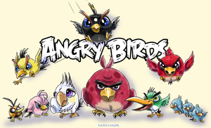 -ANGRY BIRDS- by Kosmotiel