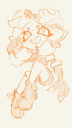 Kaneii Octoling troop Splatoon outfit by CrissyG