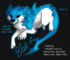 Blue Reference by Anttu-chan