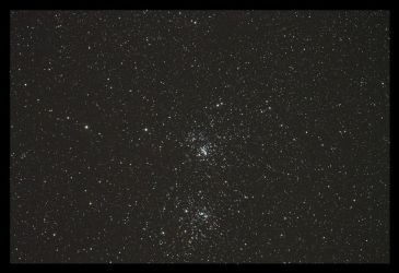 Double Cluster by liliensternus