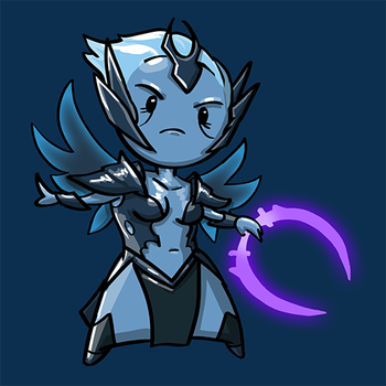 Dota Fanart v2 - Vengeful Spirit by KidneyShake