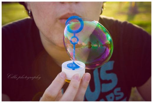 Making bubbles by OnlyCilla