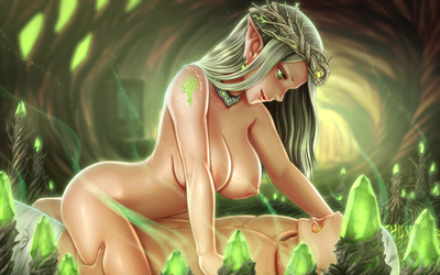 Ancient Elf by Horuto