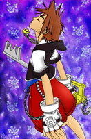 Sora - Kingdom Hearts by KireiSora