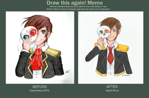 Improvement Meme (Demon Marco) by Pewdie-Ai