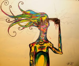 Synesthesia by Cacophobicmonster