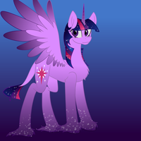 Twilight Sparkle NextGen Design by MischievousArtist