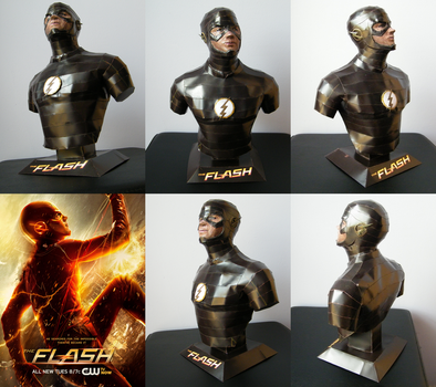 The Flash bust (CW) by totya0108