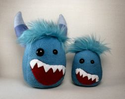 Bloob and Baby Bloob Monsters by Saint-Angel