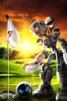 RoboGolf by DesignerKratos