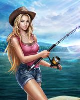 fishing by wands96