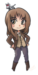 Commission- Sarah Jane Smith by T3hb33