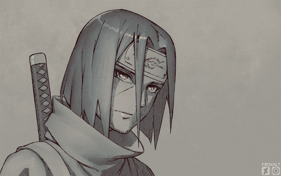 Itachi (wallpaper) by froxalt