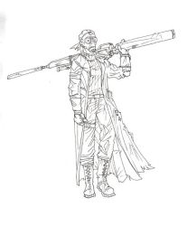 DW - Sniper01sketch by DominicFrost